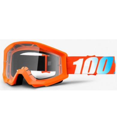 STRATA ORANGE MASCHERA CROSS 100% 100%
