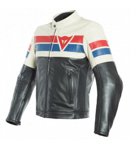8-TRACK LEATHER JACKET DAINESE