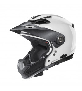 N70-2 GT CLASSIC BIANCO CASCO CROSSOVER NOLAN