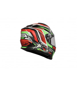 DINAMO KIDS STARS REVOLUTION MATT ITALY BLACK CASCO INTEGRALE