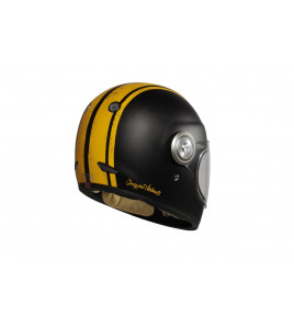 VEGA MAT YELLO-BLACK CASCO INTEGRALE