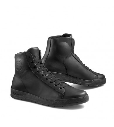 CORE WP BLACK SNEAKER IN PELLE IMPERMEABILE