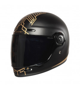 CASCO VEGA TEN BLACK LIMITED EDITION ORIGINE - CASCO INTEGRALE CON VISIERA SCURA