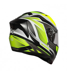 STRADA REVOLUTION MATT FLUO YELLOW-TITANIUM-BLACK CASCO INTEGRALE