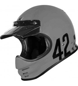 VIRGO DANNY GREY CASCO RETRO' ENDURO