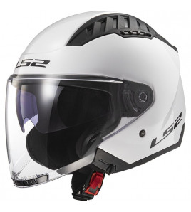 OF600 COPTER MONOCOLORE CASCO JET AREATO LS2