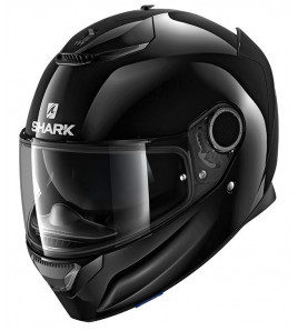 SPARTAN 1.2 NERO OPACO CASCO INTEGRALE IN FIBRA SHARK