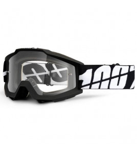 MASCHERA CROSS ACCURI TORNADO CLEAR LENS