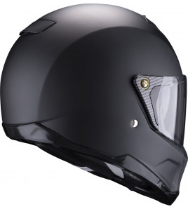 EXO-HX1 Solid Matt Black CASCO INTGRALE SCORPION