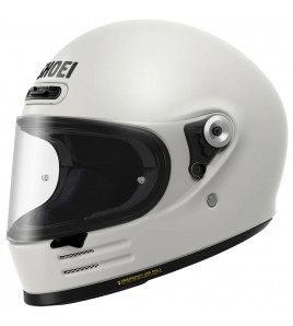 GLASTER OFF WHITE CASCO INTEGRALE SHOEI