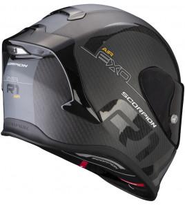 EXO-R1 CARBON AIR MG Matt Black-Silver casco integrale in carbonio