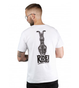 T-SHIRT RIDE WHITE MAGLIETTA JOHN DOE