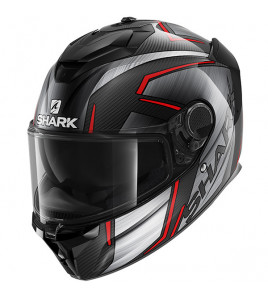 SPARTAN GT CARBON KROMIUM CASCO INTEGRALE SHARK