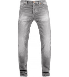 IRONHEAD LIGHT GREY PANTALONI JEANS OMOLOGATI JOHN DOE