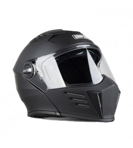 DARKSOME CASCO MODULARE NERO OPACO SIMPSON