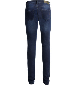 BETTY HIGH DARK BLUE JEANS DONNA CON PROTEZIONI JOHN DOE