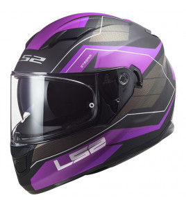 FF320 STREAM EVO MERCURY M. TITANIUM PURPLE CASCO INTEGRALE  DONNA LS2